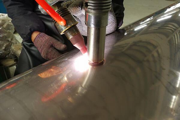 3/4' stainless steel pipe nipples welding