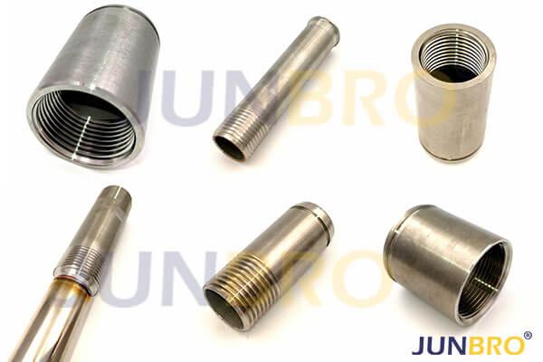 1/2' 3/4' 1' 1-1/4' 1-1/2' 2' stainless steel pipe nipples