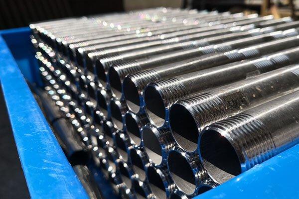 3/4' External thread stainless steel pipe nipples