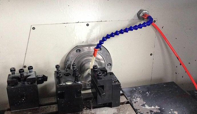 numerical control machine working