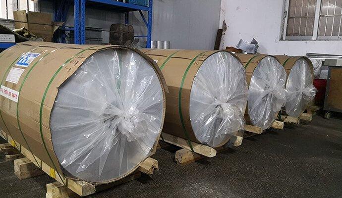 aluminum fins material roll