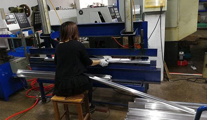 aluminum fins production
