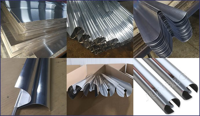aluminum fins for Integrated Pressure Water Tank and solar collector