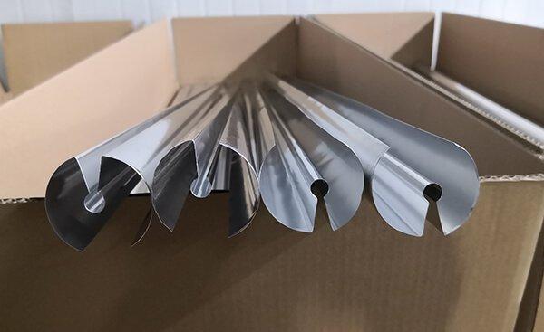 solar aluminum fins