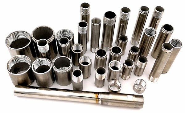 304 316L stainless steel pipe nipples