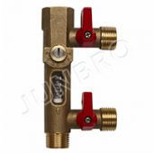 JB-PVA-4 Filling valve with flowmeter