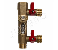 Filling valve with flowmeter