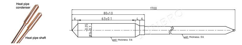 heat pipe drawing